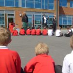 Key Stage 1 open air assembly