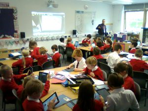 A typical KS2 classroom