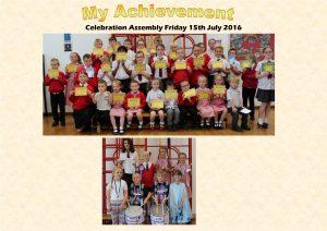 Celebration Assembly 15.07.16