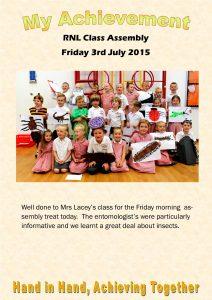 RNL Class Assembly 03.07.15